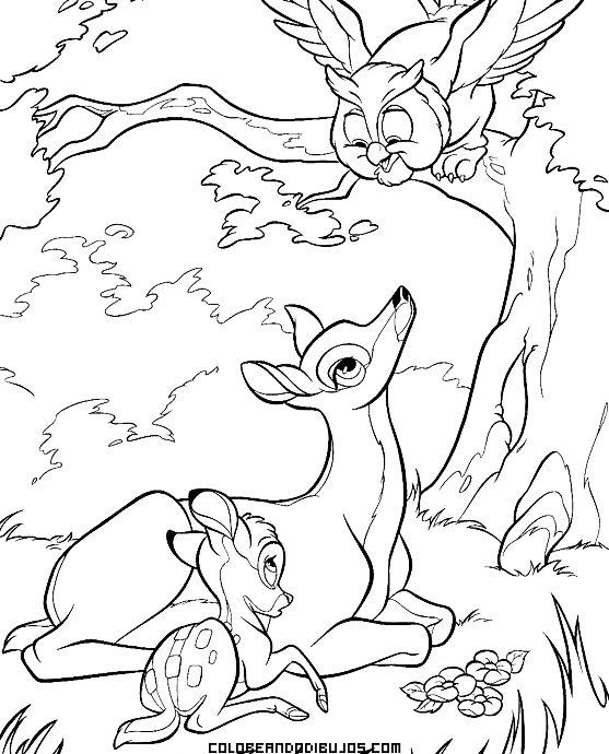 Dibujo de Bambi