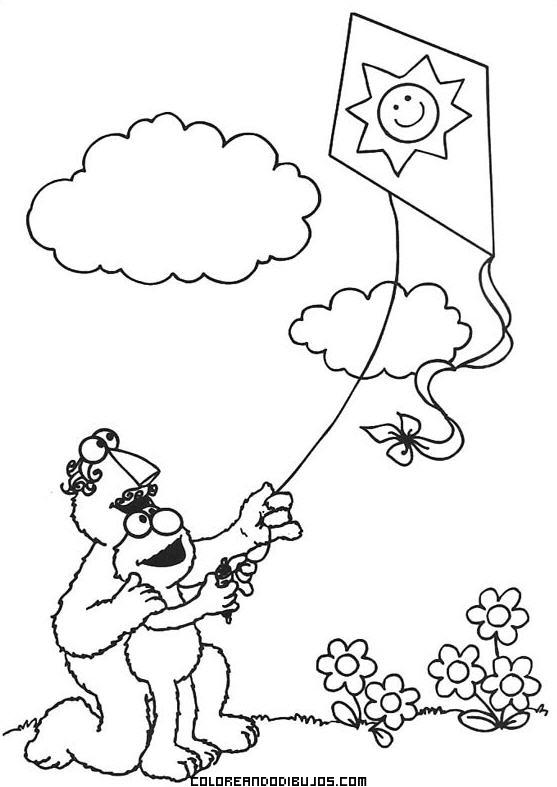 Volando una cometa