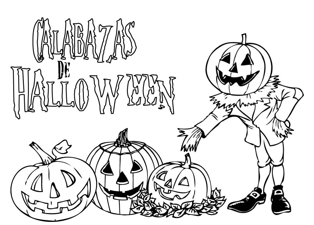 Dibujo típico de Halloween