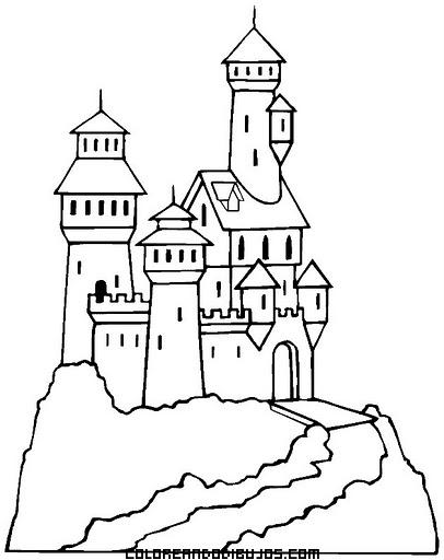 Castillo en una montaña