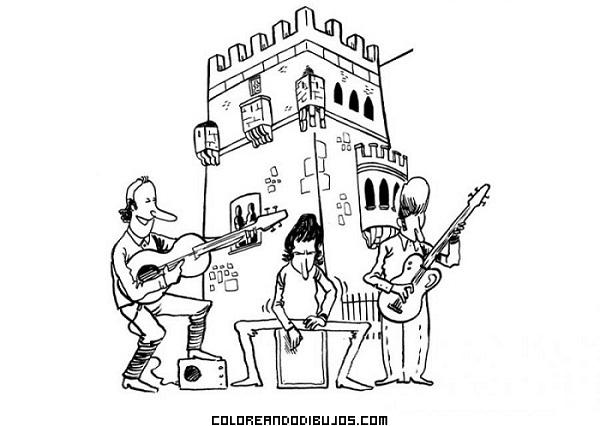 Música en el castillo