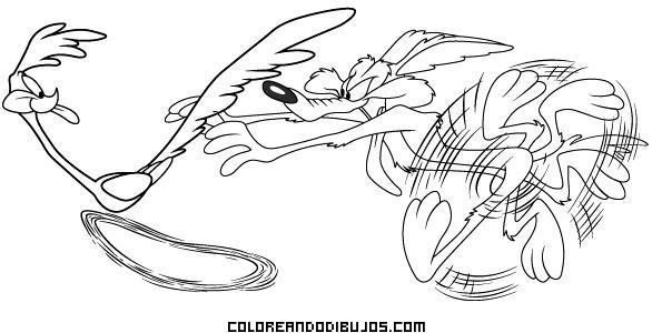 Persecución del Coyote al Correcaminos