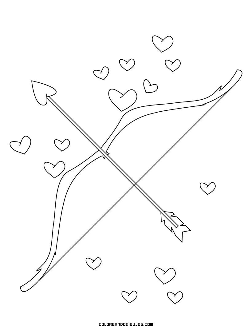de Arco y flechas de Cupido