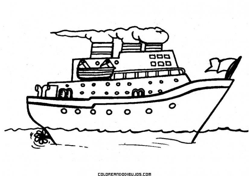 Barco de vapor infantil - Paquebot dessin ...