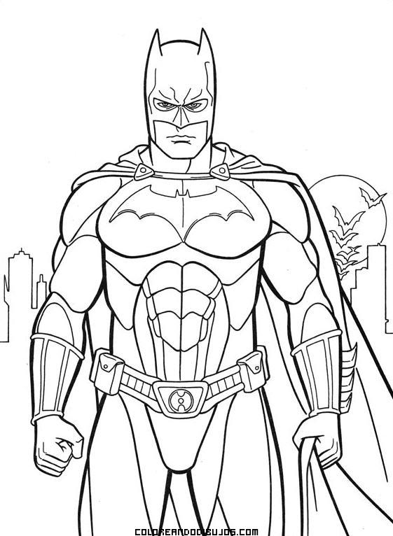 Dibujo de Batman para colorear