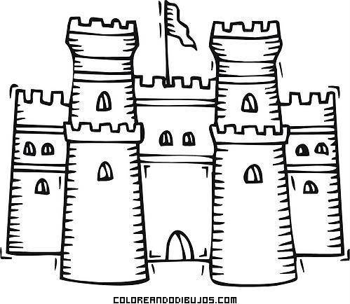 Castillo medieval fácil