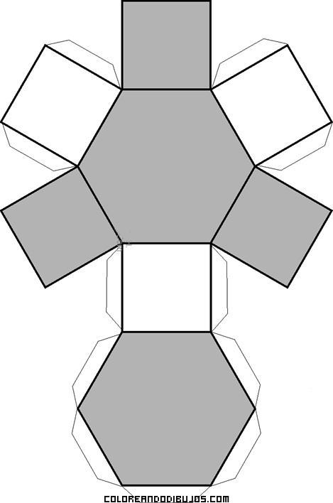Figura geométrica exagonal