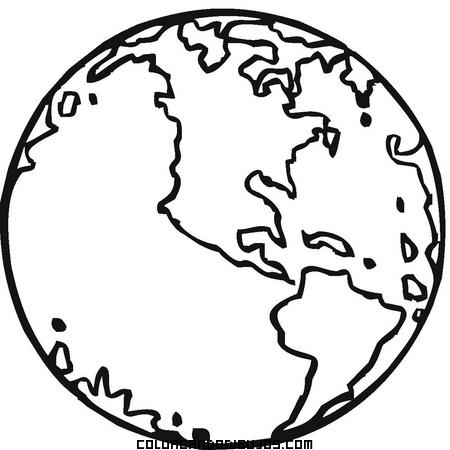 Colorea nuestro planeta - Dibujos para la pared ...