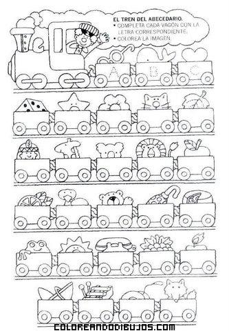 El tren del abecedario