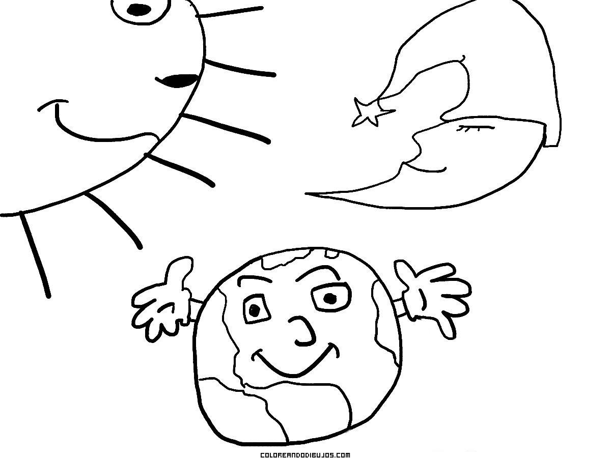 Sol la Tierra y la Luna