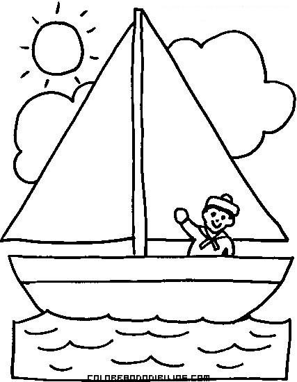 Marinero en su velero