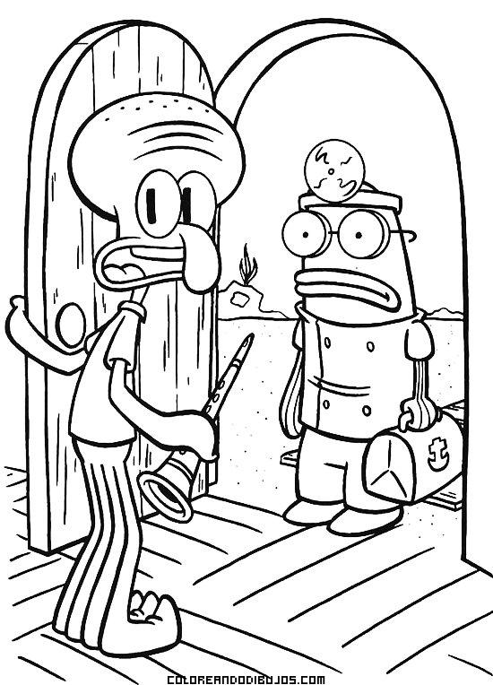 Dibujos de Bob Esponja