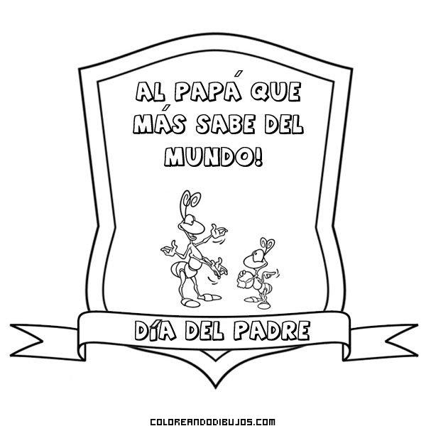 Diploma al papá que más sabe del mundo