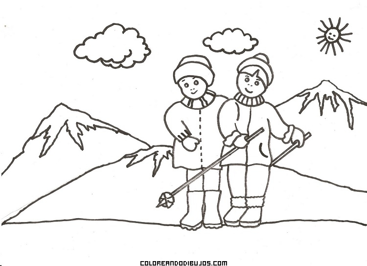 Disfrutando de los deportes invernales