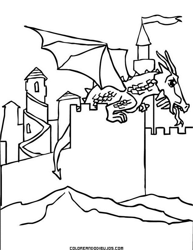 Dragón descansando