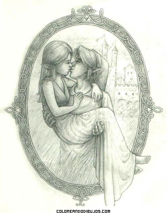 Elfos enamorados