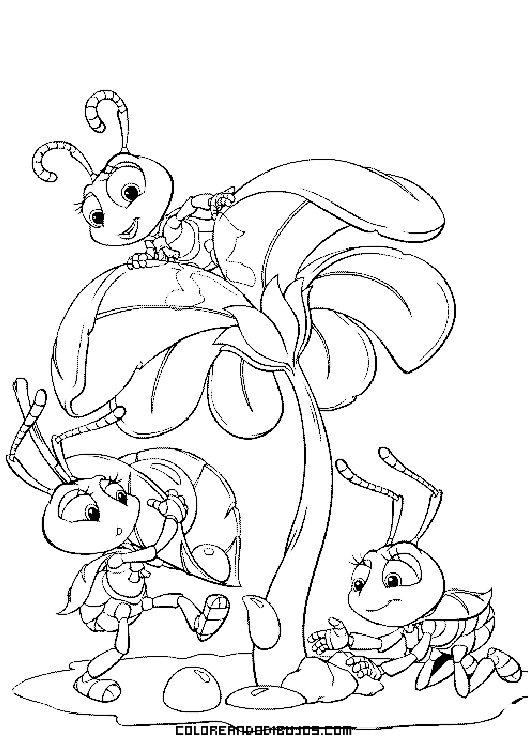 Hormigas jugando