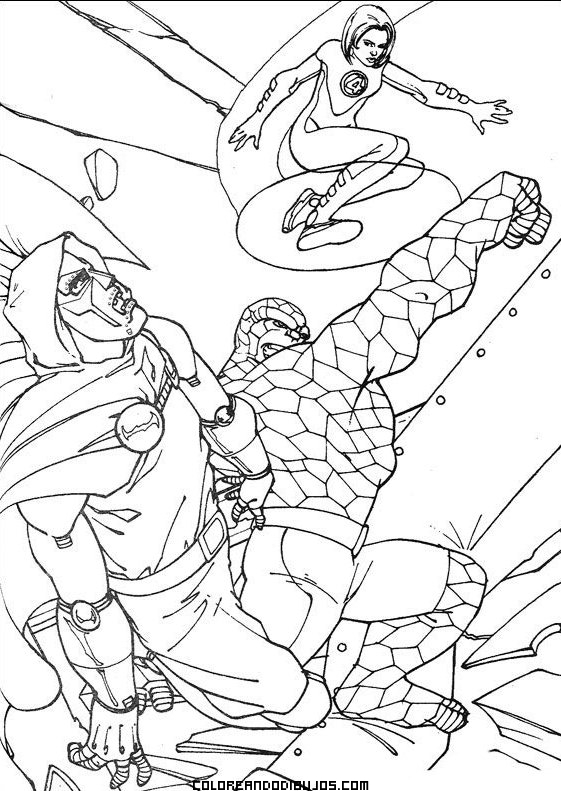 elastico superheroes coloring pages - photo#12