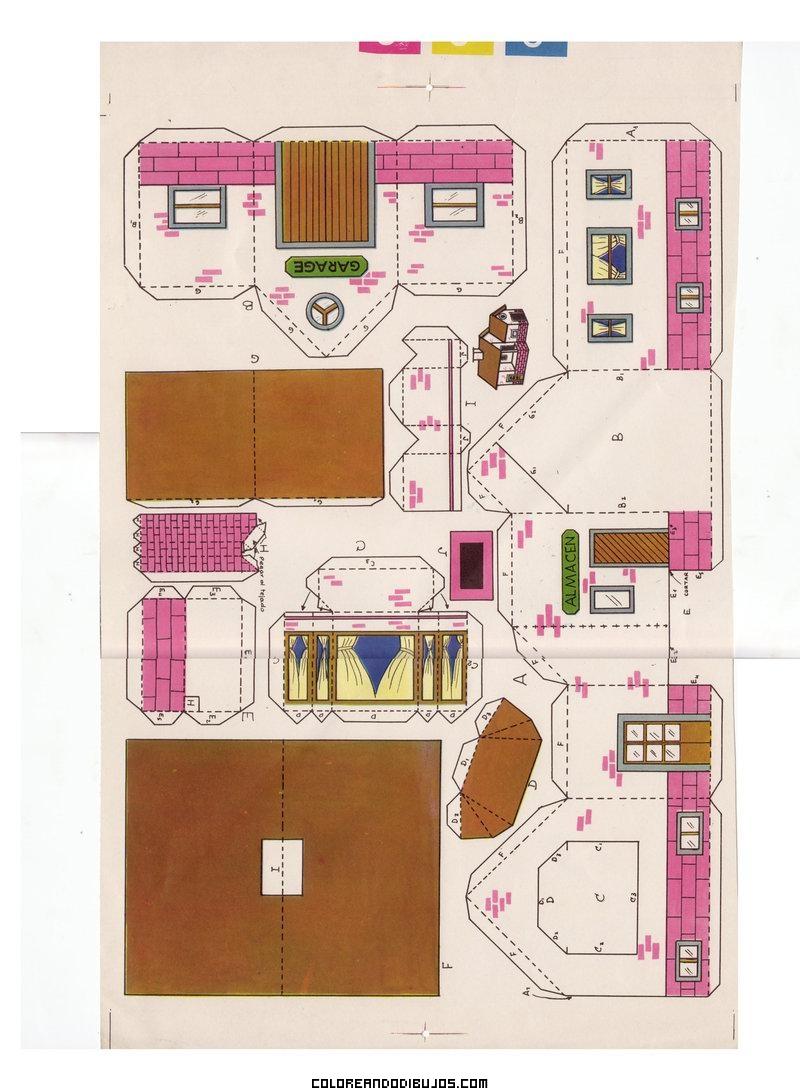 Muebles para armar en papel para maquetas imagui for Muebles para armar en casa