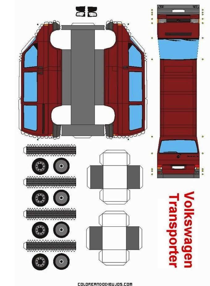 Maqueta de Volkswagen para armar