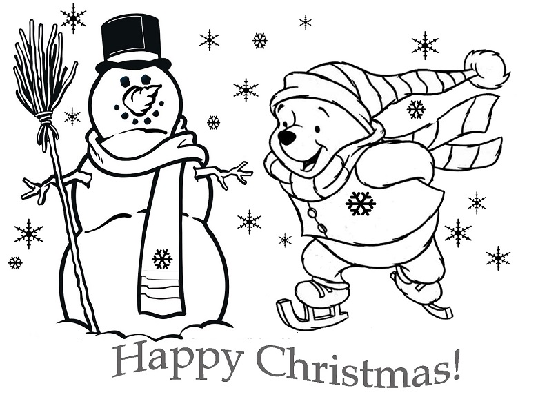 Merry Christmas con Winnie Pooh