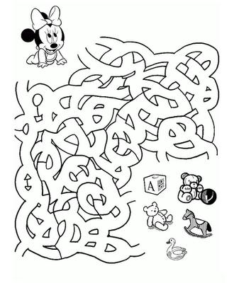 Minnie quiere sus juguetes