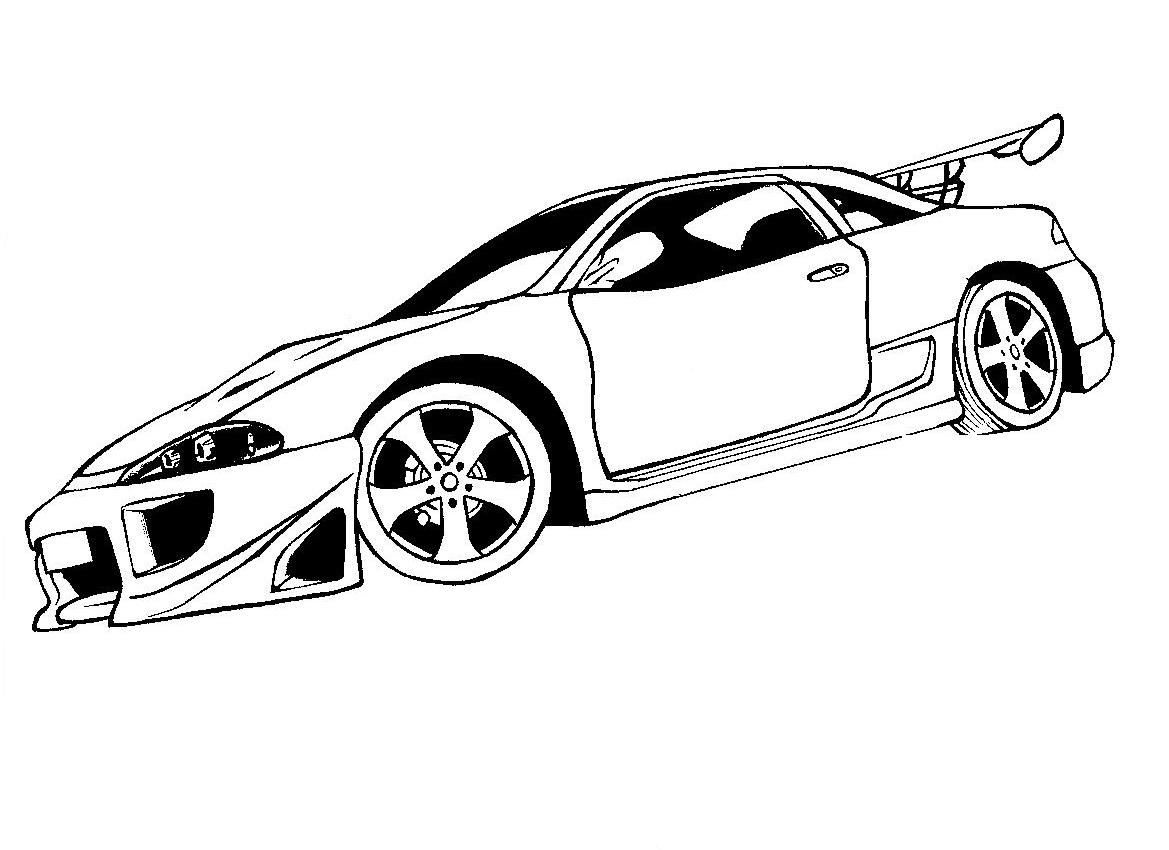 Mitsubishi para colorear