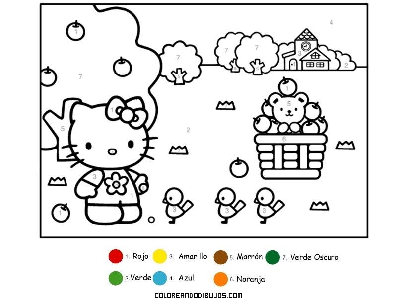 Pasatiempo de Hello Kitty