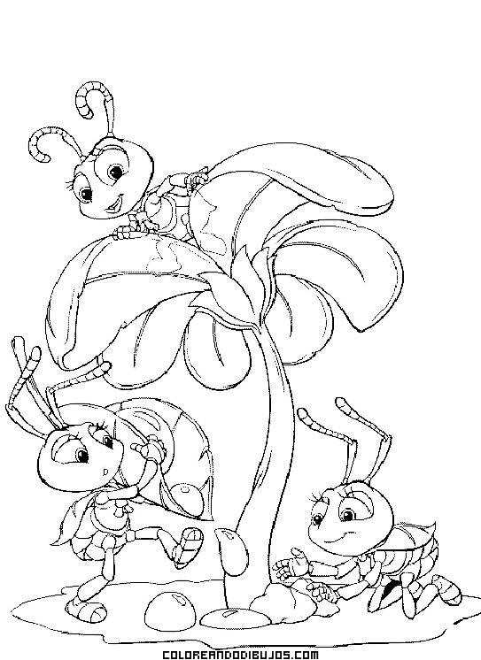Personajes de Bichos de Disney
