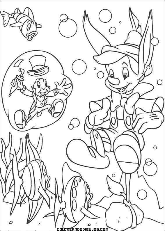 Pinocho se mete en líos