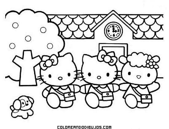 Salida del colegio de Hello Kitty
