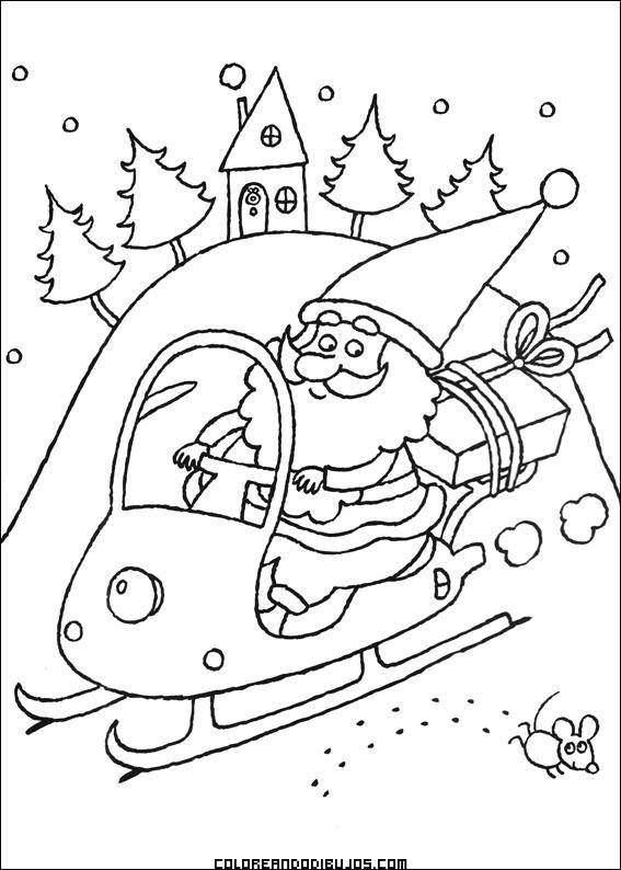 Santa Claus a toda velocidad