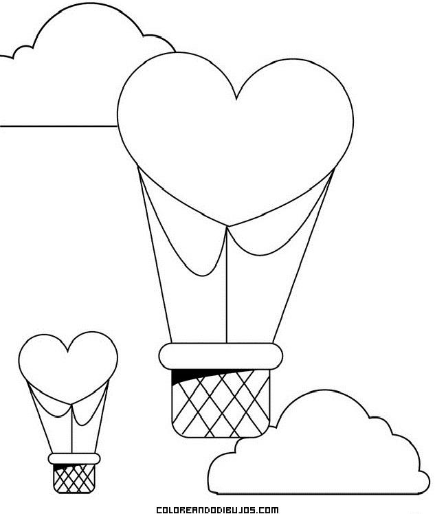 con forma de corazn