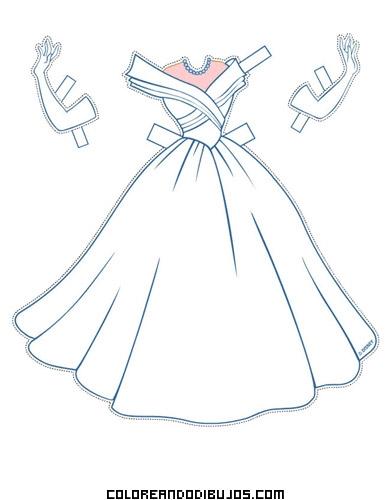 vestido de novia de cenicienta