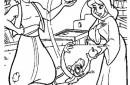 Aladin y Jazmin con el mono