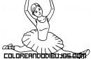 Bailarina de ballet clásico
