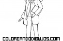 Barbie doctora para colorear