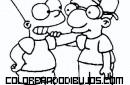 Bart y Milhouse amigos