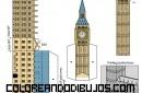 Maqueta de Big Ben para recortar y armar