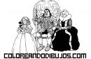 Caballero y familia medieval