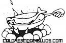 Cocinando pescado en una fogata