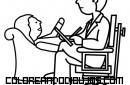 Psiquiatra ejerciendo su profesión