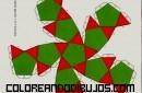 Figura geométrica de Dodecaedro truncado