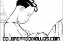 Mamá africana embarazada