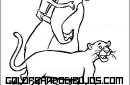 Mowgli a caballito