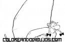 Obelix levantando una gran piedra