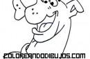 Cabeza de Scooby para pintar