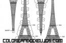 Torre Eiffel para recortar y armar